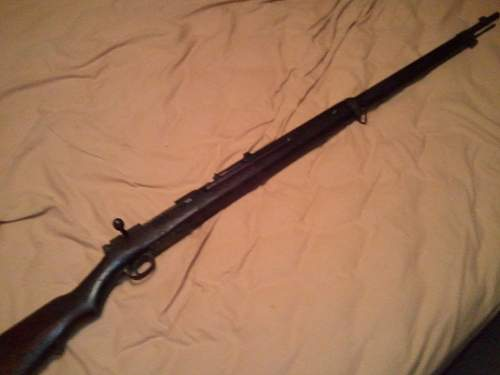 WW2 Japanese Rifle
