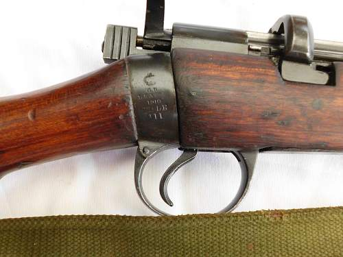 Ishapore SMLE .410 Musket