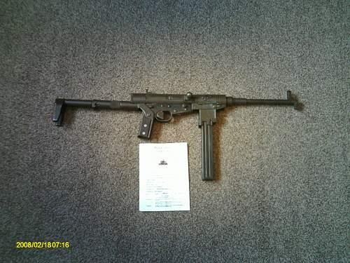 My new guns ! Russian maxim and a hotchkiss 9mm