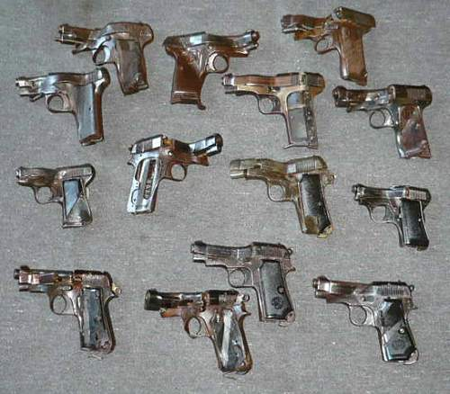 Pistol/revolver thread