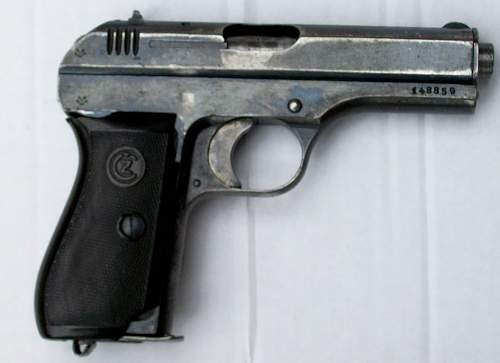 CZ P27 What can you tell me? Is this a Gestapo model?