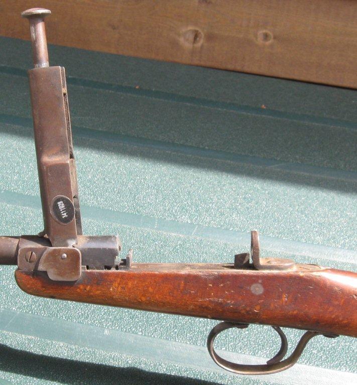Deutsche werke werk erfurt germany model i 22 lr rifle click for
