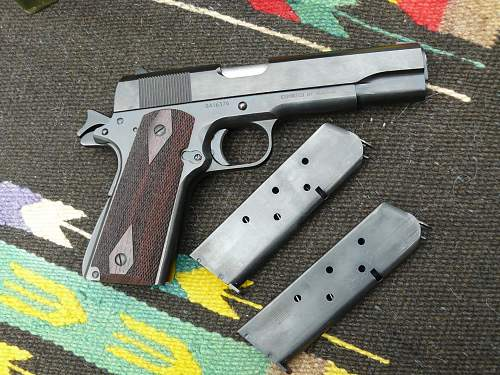 This one is just for having fun with: 1911A1 Norinco 45 cal