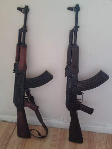 What is the difference between a akm and ak47