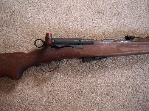 can any1 tell me what kind of rifle this is?  found it in my dads house after he passed