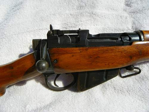"Enfield .303 British No. 4 Mk. I ""U.S. Property"""