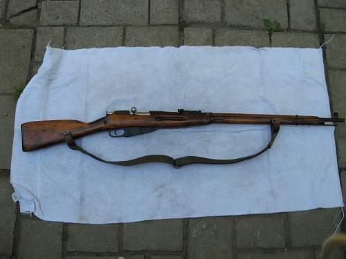 1942 Mosin Nagant 91/30