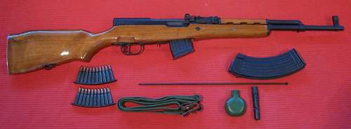SKS-M and Accessories