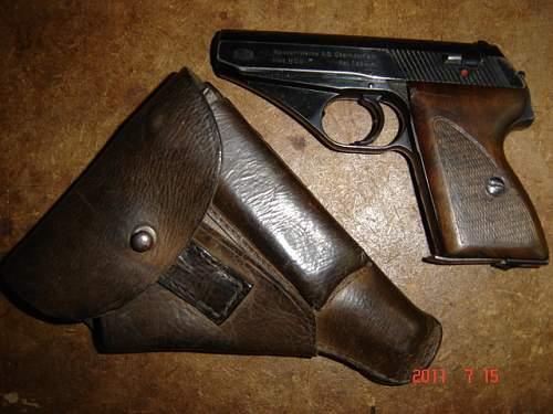 Pistol/revolver thread