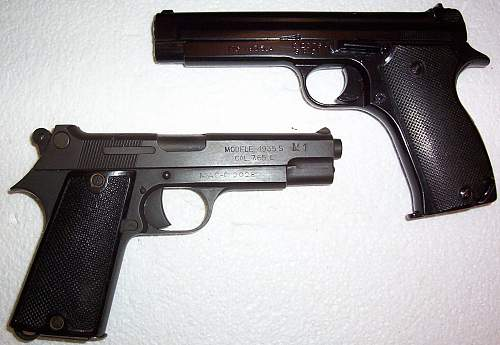 The lesser known 1935-A and 1935-S French Semi-Auto Pistols.