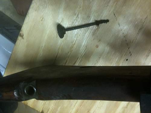 "LMG 08/15 ""Spandau"" Machine Gun from WWI"