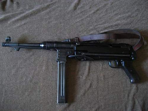My fxo manufactured Mp 40