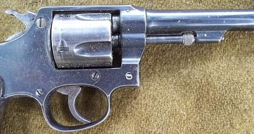 Geco Marked Spanish Revolver