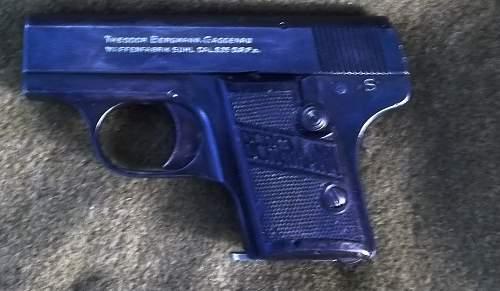 Bergman 6.35mm Pistol