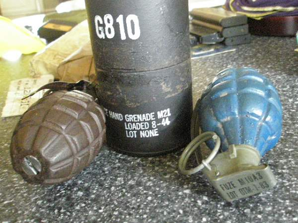 US MkII Grenades / Test post & pics FR: New Member