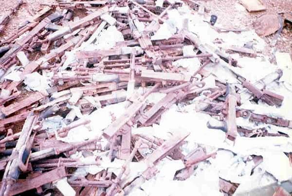 Firearms dump