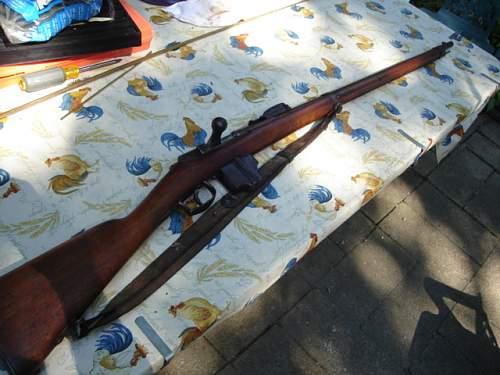 1878 Maastricht Beaumont rifle