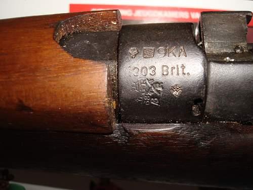 Lee enfield MK-III 1917