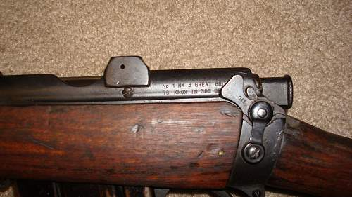 1918 Lee - Enfield: One Of My Birthday Gifts