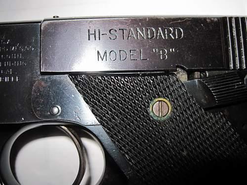 Click image for larger version.  Name:High Standard Model 'B' 003.jpg Views:816 Size:208.8 KB ID:241859