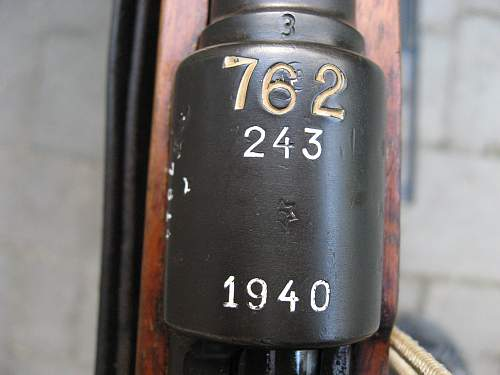 A Mauser 98k with a interesting history