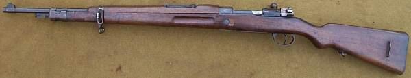 Spanish M43 Rifle