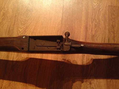 Swift training rifle model A
