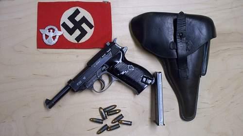 Police P.38 Rig 1943