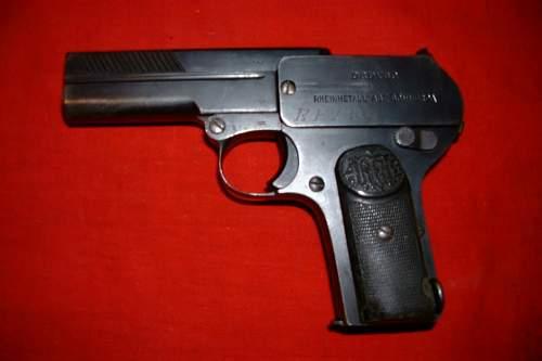 RFV Dreyse pistol