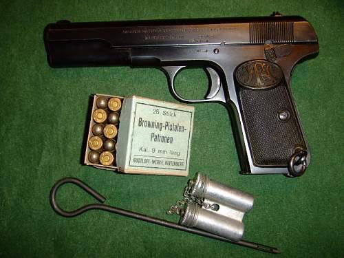FN model 1903, 2 variations.