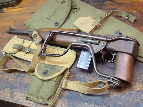 Wwii m1a1 folding carbine