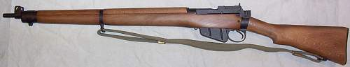Absolutely Mint Unissued British .303 Enfield No 4 Mark II Rifle. Came still in original wrap