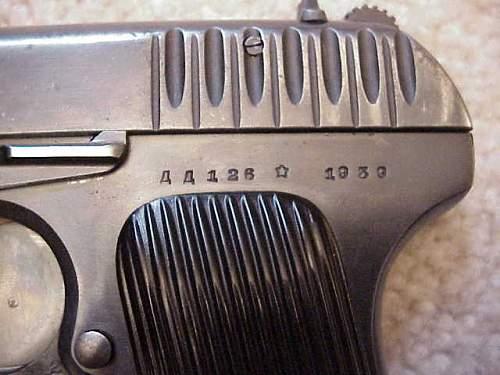Russian TT33 Tokarev 1939