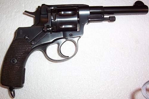 My virtually, mint Russian Nagant Revolver, dated 1913