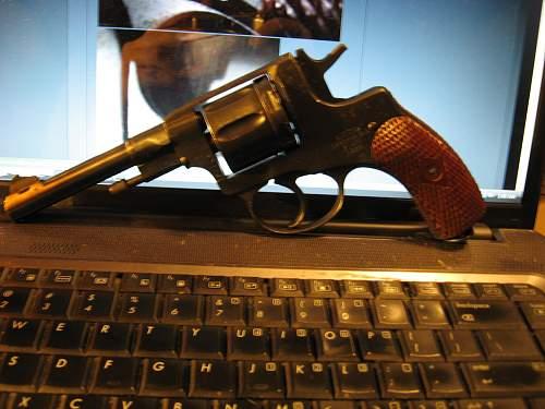 Finally got it, 1926 Tula Nagant revolver