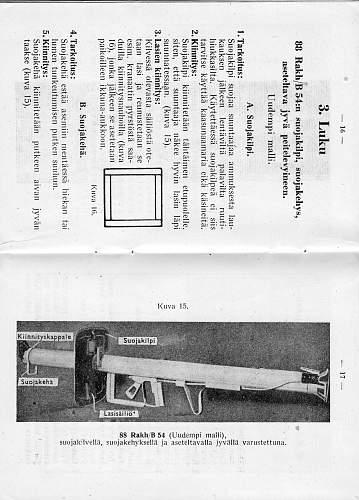 Panzerschreck RPzB.54 from Jersey, Channel Islands
