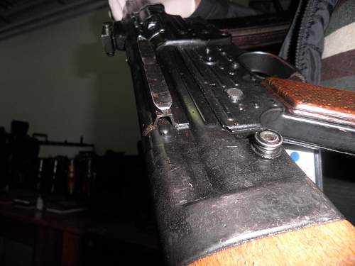 Rare German  mags for assault rifles plus MP 44 mount and muzzel break?