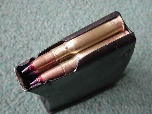 Click image for larger version.  Name:SVT40 magazine complete with AP rounds..jpg Views:663 Size:151.3 KB ID:2970