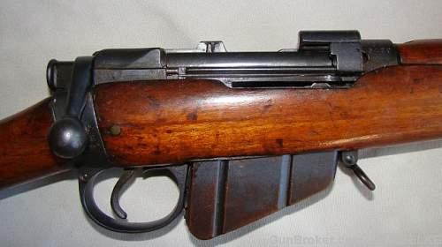 My two No 1, Mk I*** Rifles with post war Irish Service
