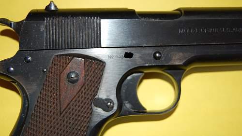 WWI US Army 1911 Pistol