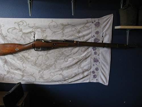 1942 Tula 91/30 from the Balkans