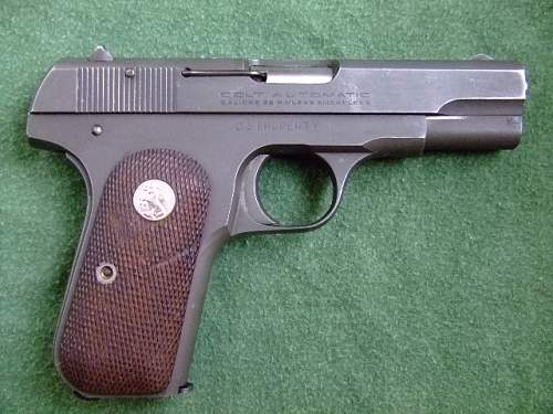 Colt 32 Model 1903, Pocket Hammerless