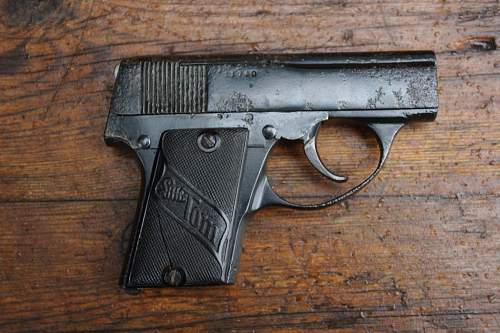 Wiener 'LITTLE TOM'    6.35mm Pistol   Austrian Proofed and Dated 1922