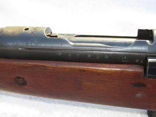My Arisaka T99 Rifle
