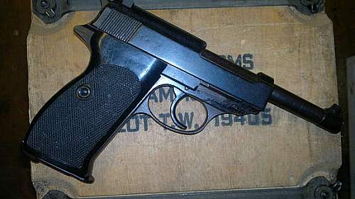 Walther P38 Deactivater