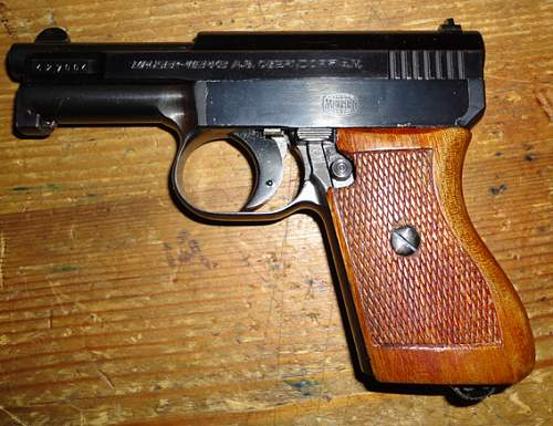 Mauser 1934 Police Issue