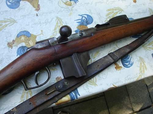 My  New 1895 Hembrug Rifle