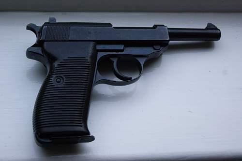 My first German weapon- P38 pistol
