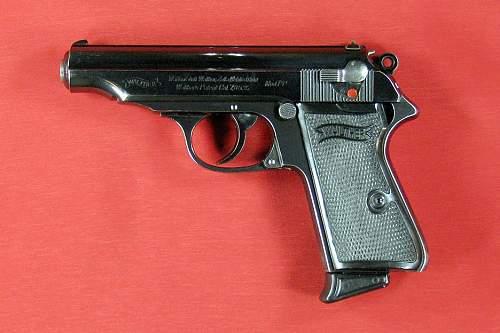 My modest collection of German Handguns