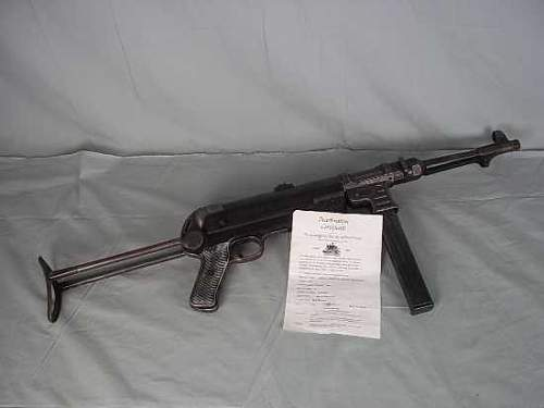 MP40 by ERMA code AYF???